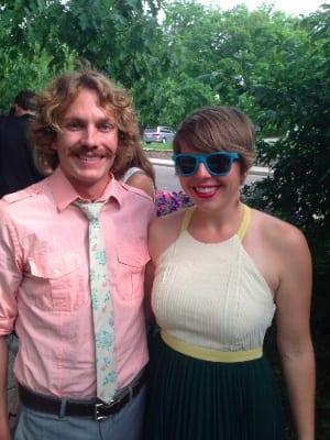 Matt Flaherty and his girlfriend, Beth