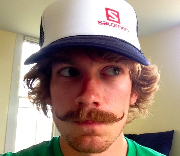 Matt Flaherty and his mustache