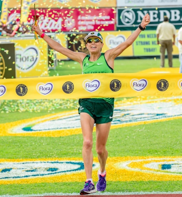 Ellie Greenwood, 2014 Comrades Marathon champion