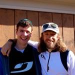 Nick Clark - Ian Sharman - Leadville 100 2013