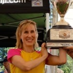 Pam Smith - 2013 Western States 100 - trophy