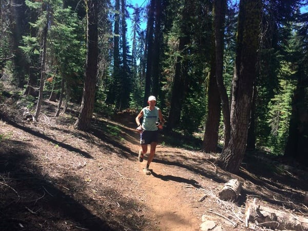 AJW in the Western States 100 high country