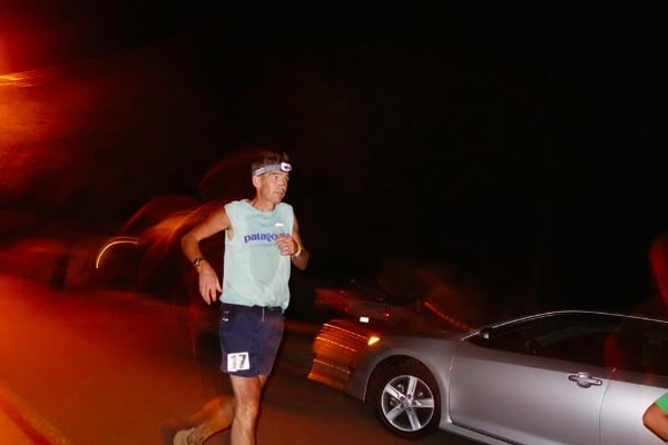 AJW 500 yards from the 2014 Western States 100 finish