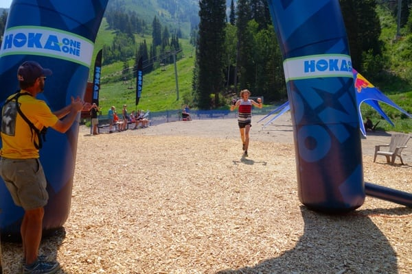 Paul Hamilton - 2014 Speedgoat 50k - finish