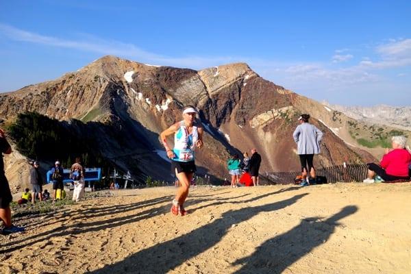 Kasie Enman - 2014 Speedgoat 50k - climb