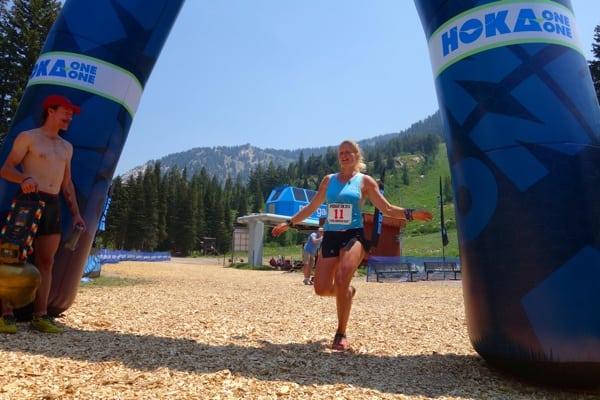 Anna Frost - 2014 Speedgoat 50k - Finish