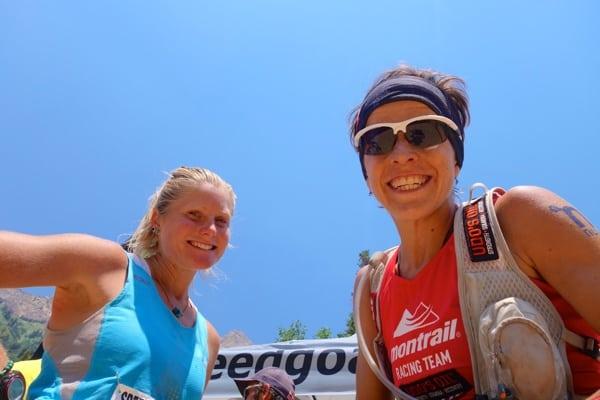 Ellie Greenwood - 2014 Speedgoat 50k - finish