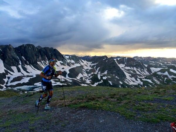 2014 Hardrock 100 - Julien Chorier - Handies Peak