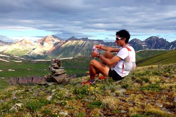 2014 Hardrock 100 - Kilian Jornet - Pitman Cascade Ridge