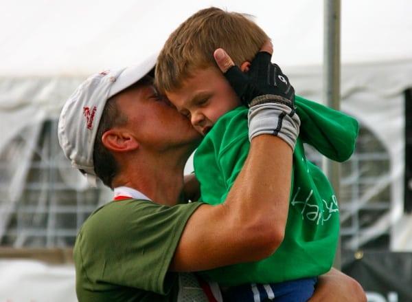 Garrett Graubins after finishing the 2011 Hardrock 100