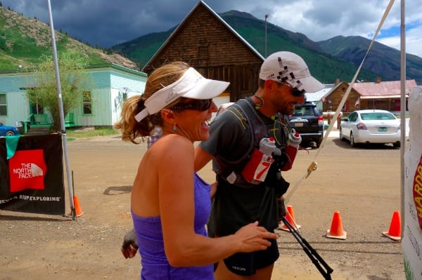 Jared Campbell finishing his 8th Hardrock 100 in 2013