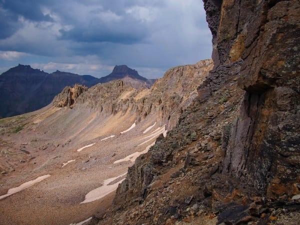 Quintessential Hardrock 100 scenery from Virginius Pass
