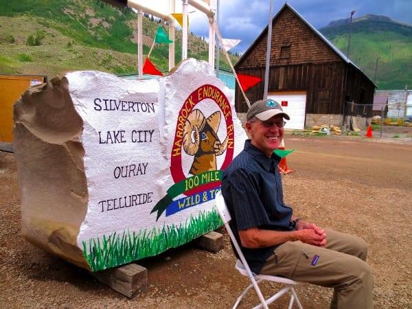 David Horton in front of the Hardrock in 2012