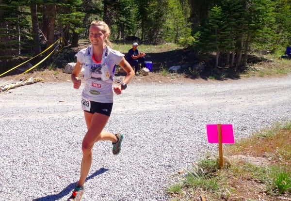 Stephanie Howe - 2014 Western States 100 - Robinson Flat