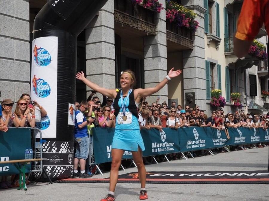 2014 Skyrunning World Championships - Mont-Blanc 80k - Emelie Forsberg