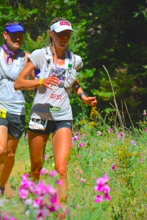 Stephanie Howe - 2014 Western States 100 - after Foresthill