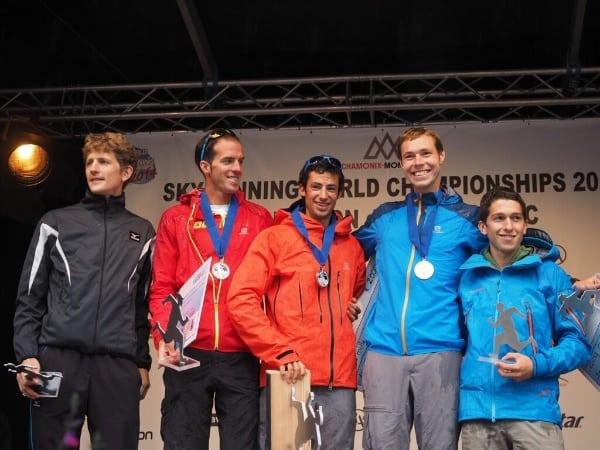 2014 Skyrunning World Championships - Mont-Blanc Marathon men's podium