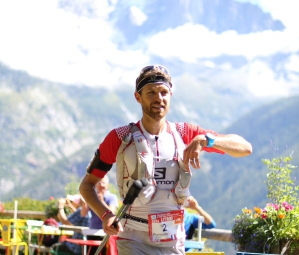 Francois D'Haene, 2014 The North Face Ultra-Trail du Mont-Blanc champion