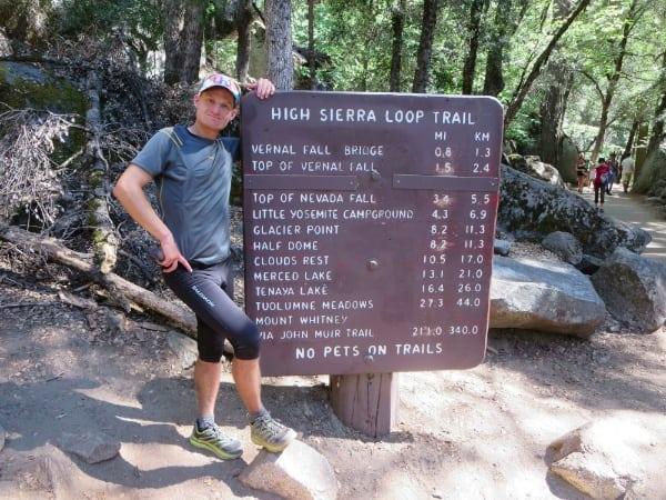 Leor Pantilat - John Muir Trail supported FKT holder