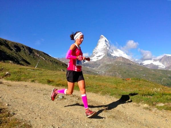 Elisa Desco - 2014 Matterhorn Ultraks second place