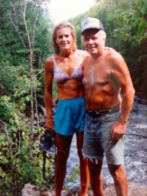 Lisa Smith-Batchen and her father