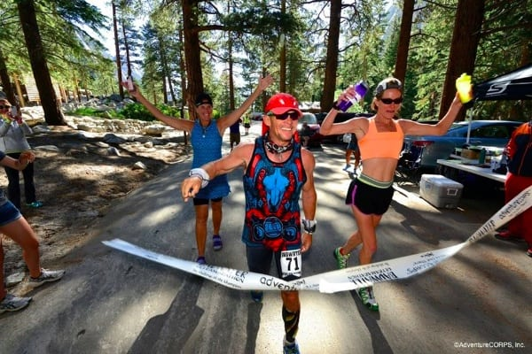 Grant Maughn - 2014 Badwater Ultramarathon second place