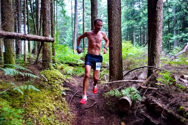 Adam Campbell - 2014 Suqamish 50k champion