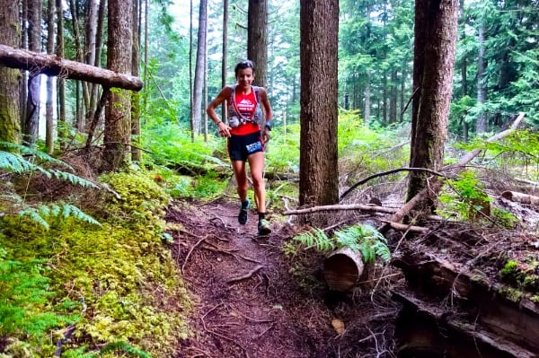 Ellie Greenwood - 2014 Squamish 50k champion