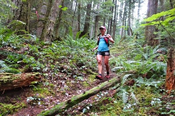 Cassie Scallon - 2014 Squamish 50 Mile third place