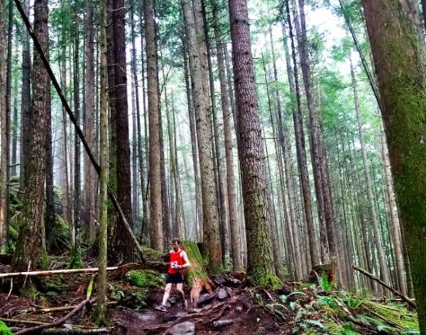 Ed McCarthy - 2014 Squamish 50 ile third place