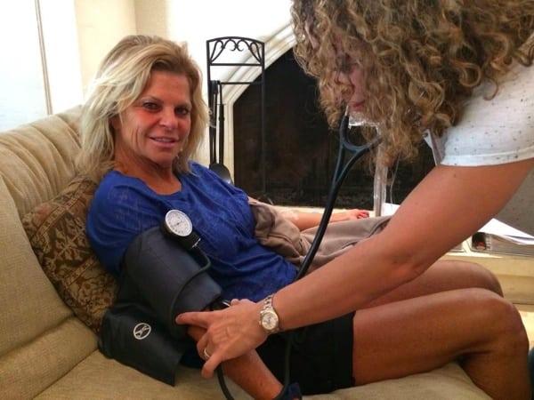 Photo 3 - Shannon Farar-Griefer and her nurse