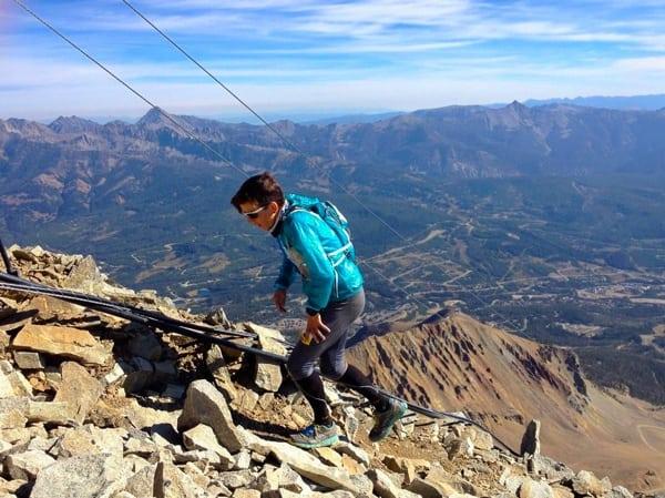 Ellie Greenwood - 2014 The Rut 50k - Lone Peak