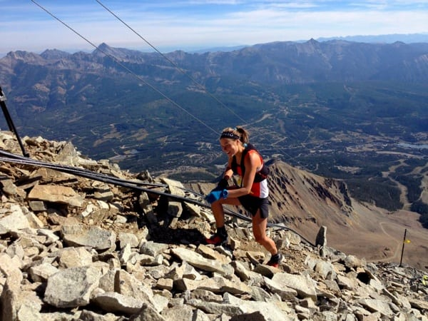 Emelie Forsberg - 2014 The Rut 50k - Lone Peak