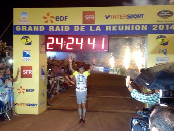 Francois D'Haene - 2014 Diagonale des Fous champion
