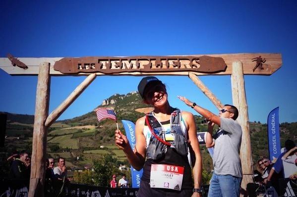 Magdelena Boulet - 2014 Grand Trail de Templiers third place