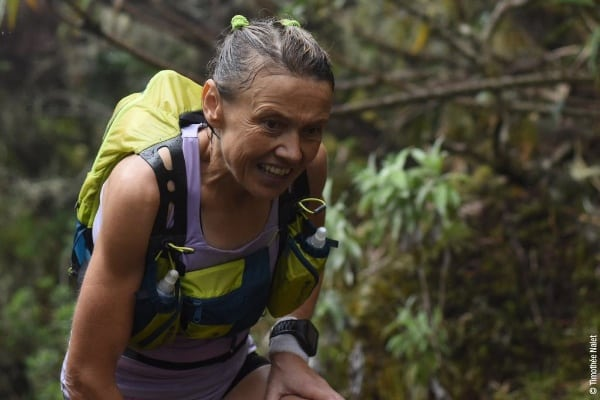 Nathalie Mauclair - 2014 Diagonale des Fous champion