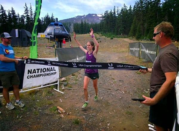 Megan Roche, 2014 USATF 50k Trail National Champion