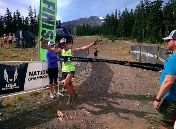 Tim Tollefson, 2014 USATF 50k Trail National Champion