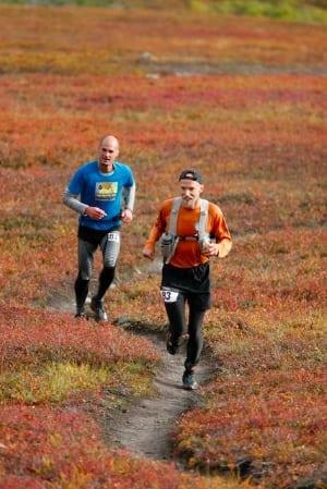 Matias Saari and Harlow Robinson - 2014 Kesugi Ridge Traverse - Ray Hafen