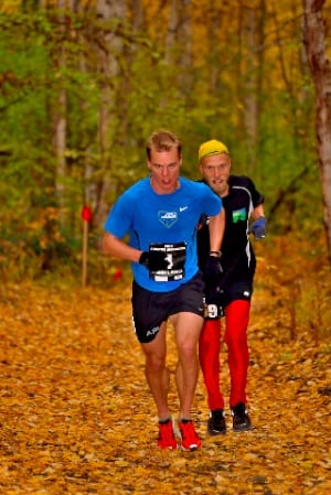 Eric Strabel and Matias Saari - 2012 Equinox Marathon - Mark Conde