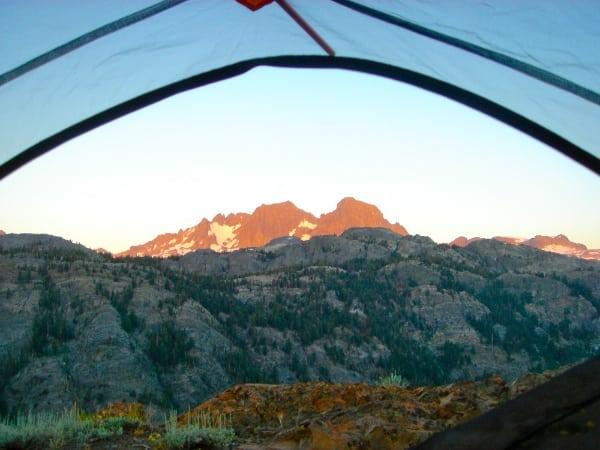 Meghan Hicks - PCT campsite