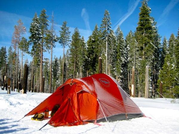 Meghan Hicks - Yosemite campsite