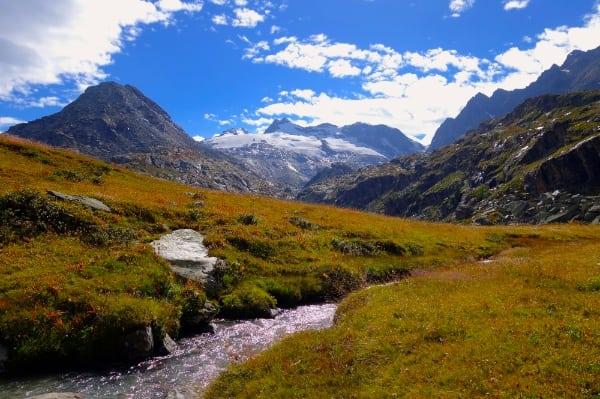 2014 Tor des Geants - descent to Planaval