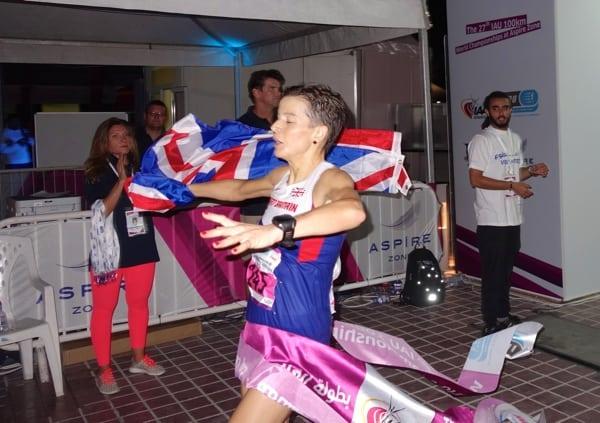 Ellie Greenwood - IAU 100k World Champion 3