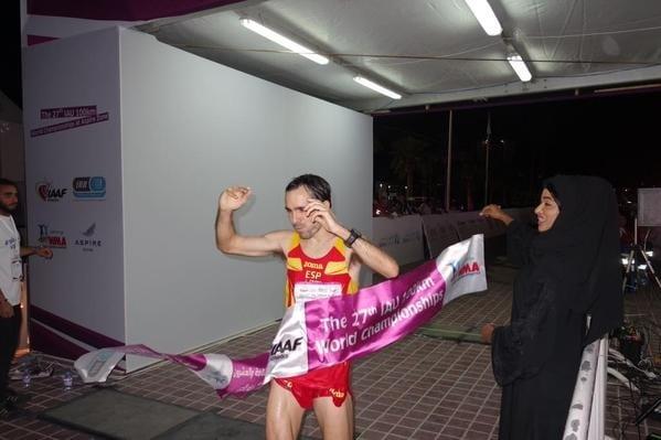 Jose Antonio Requejo - 2014 IAU 100k World Championships third place
