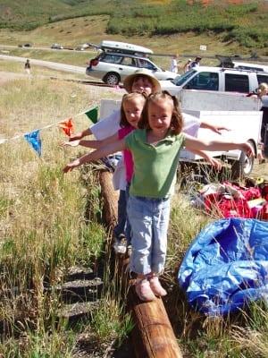 Jenna and Kayli crewing photo