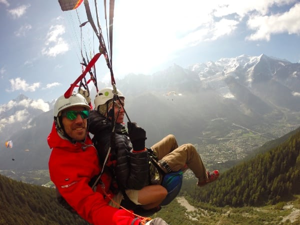 Dakota Jones - Paragliding