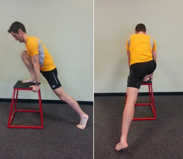 Low Back Pain - Split Hip Stretch