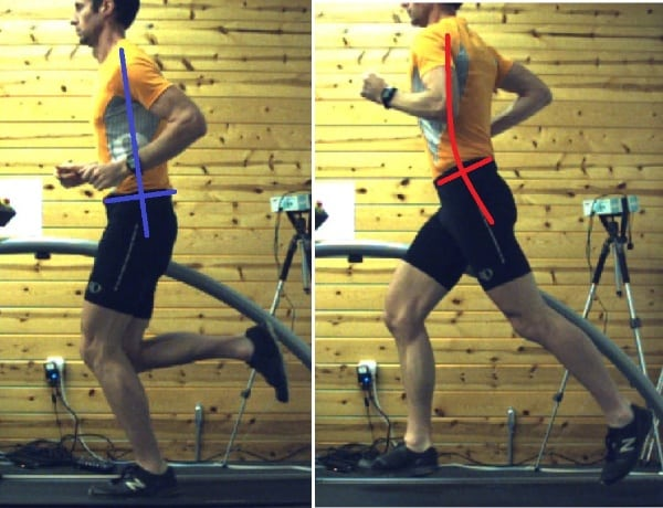 Low Back Pain - Incorrect Running Posture