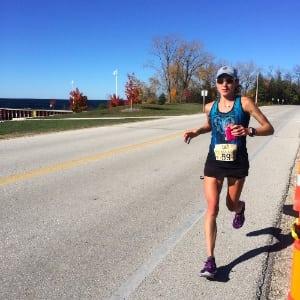 Larisa Dannis - 2014 USATF 50-Mile Road National Championship
